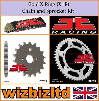 JT Gold X-Ring Chain & Sprocket Kit Yamaha FZS600 Fazer 1998-03 KITJT37CQ