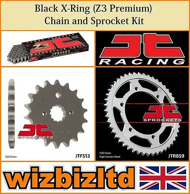 JT Black X-Ring Chain & Sprocket Kit Yamaha FZS600 Fazer 1998-03 KITJT37CS