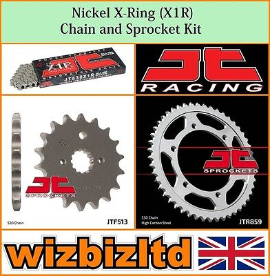 JT Nickel X-Ring Chain & Sprocket Kit Yamaha FZS600 Fazer 1998-03 KITJT37CO