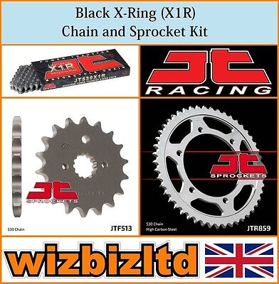 JT Black X-Ring Chain & Sprocket Kit Yamaha FZS600 Fazer 1998-03 KITJT37CN