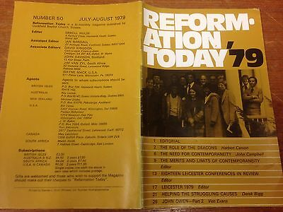 Reformation Today magazine, Issue 50 July- August 1979