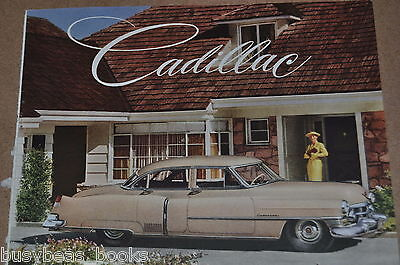 1952 Cadillac advertisement, Pink Caddy color photo, woman's car
