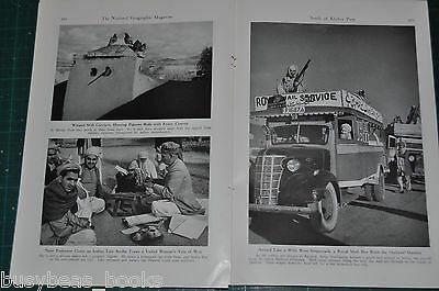 1946 INDIA magazine article, people, history etc, South of Khyber Pass