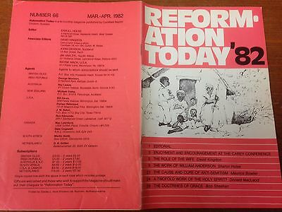 Reformation Today magazine, Issue 66 March- April 1982