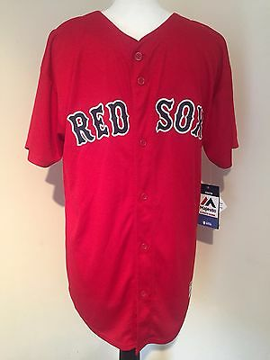 New Majestic Red Sox Youth Jersey Size XL