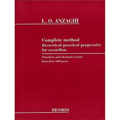 Luigi Anzaghi: Complete Method For Accordion. Sheet Music