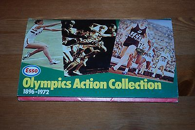 Set of Esso Olympic Action Collection 1896-1972 Stickers