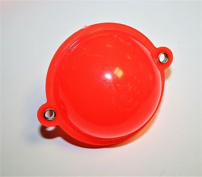 Buldo Round Bubble Floats Red (Metal eyes)