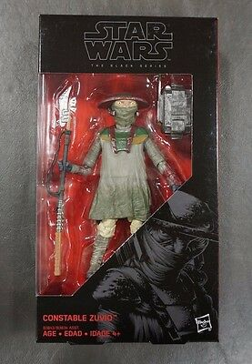"Constable Zuvio STAR WARS The Black Series 6"" Figure AUTHENTIC #09 09"
