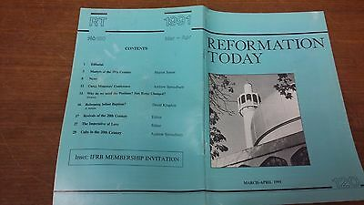 Reformation Today magazine, Issue 120 March-April 1991