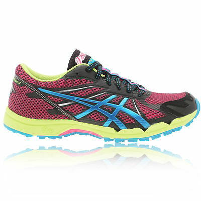 ASICS Womens GEL-FUJI RACER 3 Pink Cushioned Trail Running Trainers Pumps Shoes