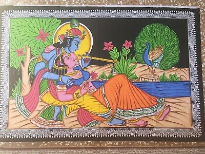 tapiz decoracion paredes big hindu religious Lord Krishna wall hanging tapestry
