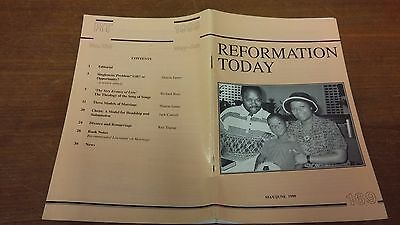 Reformation Today magazine, Issue 169 May- June 1999