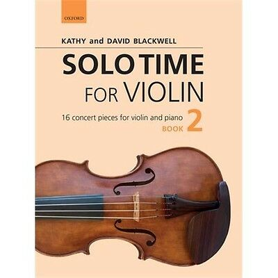 Kathy Blackwell/David Blackwell: Solo Time For Violin Book 2. Sheet Music