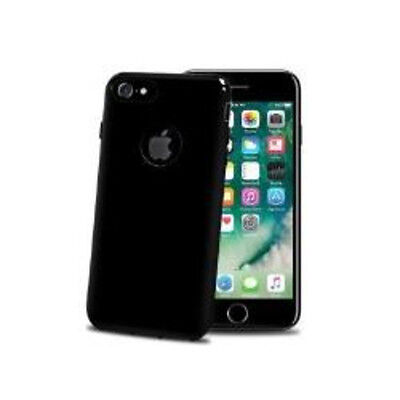 B0619072 Cover Celly Tpu Iphone 7 Nero [Gelskin800Be]