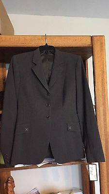NWT Tailored Sportsman Show Jacket Size 4R Charcoal