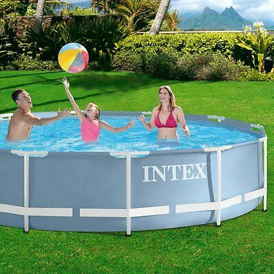Above Ground Swimming Pool 12ft x 30in Swimming Paddling Pool for Garden,Outdoor