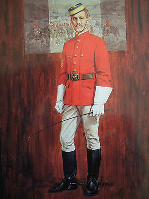 Military Postcard -North West Mounted Police 1874