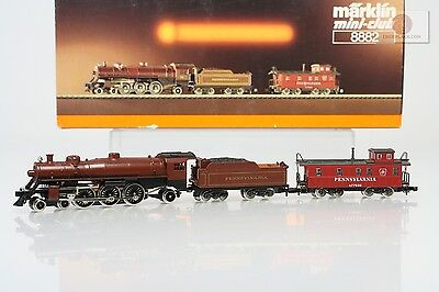 Z 1:220 Märklin 8882 Locomotive Pennsylvania Pacific USA scale trains Germany