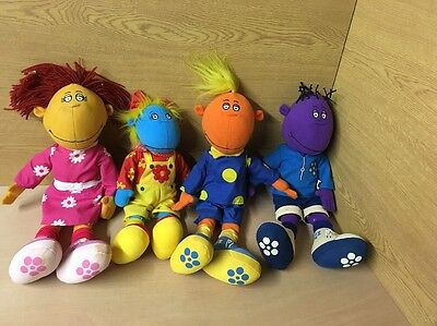 tweenies and doodles bundle soft plush toys vintage original 1998