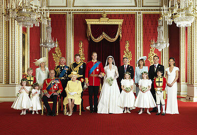 The wedding of prince William and Kate Middleton HD Canvas Print No Frame 24H304