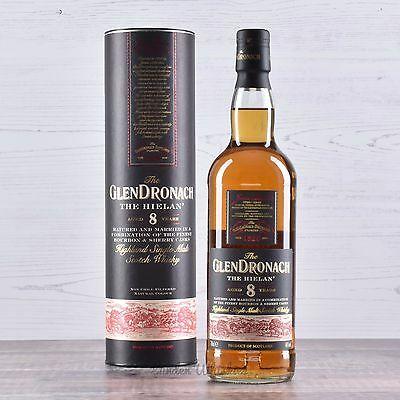 Glendronach The Hielan 8 Year Old Single Malt Scotch Whisky Limited Edition 46%