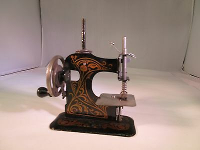 Antique Vintage  Mini Sewing Machine Small Salesman Sample  G-169