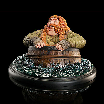 Bombur Barrel Rider - The Hobbit The Desolation of Smaug - Weta Statue