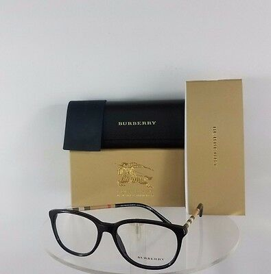 Brand New Authentic Burberry BE 2112 Eyeglasses 3001 50mm Black Frame BE2112