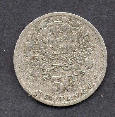 Portugal 50 Centavos 1935 coin Key Date