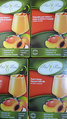Ideal Protein Peach And Mango Flavoured Drink Mix  (4 Boxes Of 7)