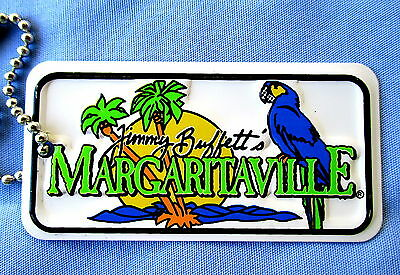 Jimmy Buffett's Margaritaville Embossed Metal Key/hang Tag-New A