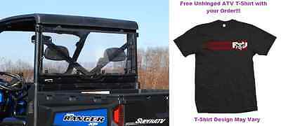 MADE IN THE USA Polaris Ranger 570/900 Standard CLEAR Rear Windshield