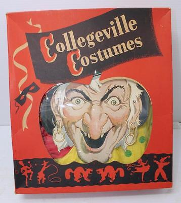 Vintage Collegeville Costumes Gypsy Woman Costume #80 In Orig Box Nice Cond