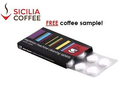 Cino Cleano for Breville Machine Cleaning Tablets (8x1.5g) FREE COFFEE SAMPLE