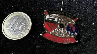 Fussball Brosche Badge Champions League 2003/04 FC Porto  Manchester United