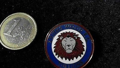 Fussball Brosche kein Pin Badge Smith Woods FC The Lions Wappen Logo