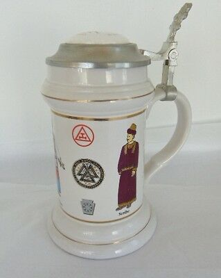 Masonic Grand Royal Arch Stein, 200Th Anniversary Of The Grand Holy Royal Arch C