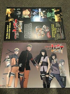 """NYCC 2015 Naruto the Last Movie Double-Sided 11"""" x 17"""" Poster"""