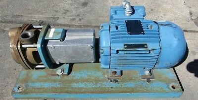 MTH T41D Series Regen Regenerative Turbine Pump 2 hp WEG Electric motor SKID