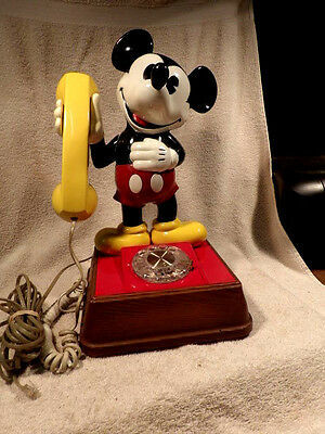 1976 Western Electric Mickey Mouse Dial Telephone