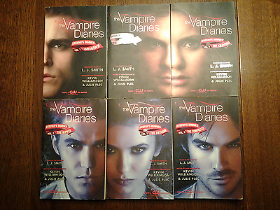 The Vampire Diaries Stefan's Diaries Complete Set 1-6 Lot L.J. Smith