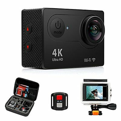 FITFORT Action Camera 4K WiFi Ultra HD Waterproof Sport Camera...NEW! NO TAX