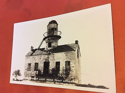 RPPC of Old Spanish Light House in Point Loma, California. Unposted.