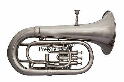 AWESOME Premier MW 4 VALVE EUPHONIUM NICKEL/SILVER PLATED POLISHED  WITH CASE