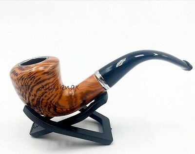 Resin Smoking Pipe, Tobacco Cigar pipes , Stand, leather pouch and box