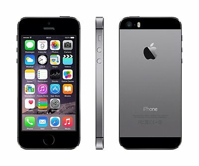 Apple iPhone 5S - 16GB (Space Grey) Factory Unlocked