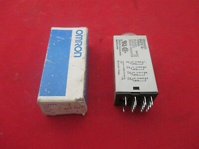 Omron Timer H3Y-4 1 Sec new