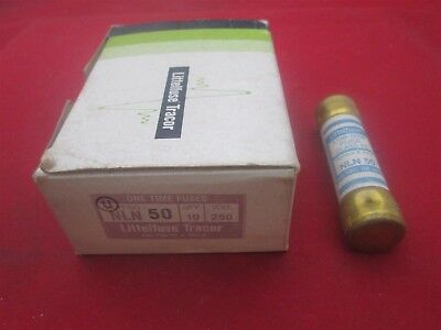 Littelfuse Tracor One Time Fuses NLN 50 new