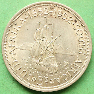 1952 South Africa Five shillings SNo32833
